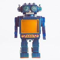 vecchio robot foto