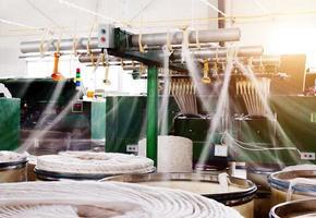 fabbrica di filatura foto
