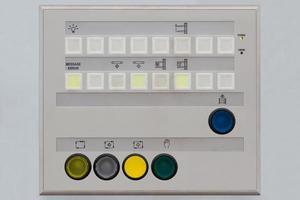 pannello di controllo dell'operatore foto