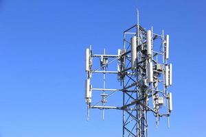 torre del telefono cellulare foto