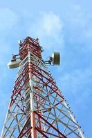 antenna di telecomunicazione. foto