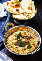 dhal con zucca. cucina indiana. foto