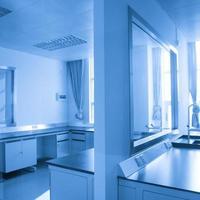 laboratorio scientifico moderno foto