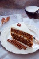 torta di carote foto