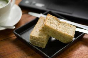 vecchia pasta di pane al tonno san leibowitz. foto