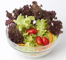 insalatiera di verdure foto