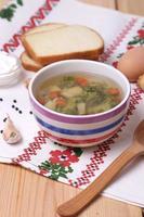 zuppa fresca foto