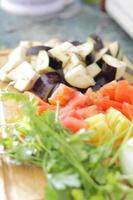 cibo sano - verdure fresche foto