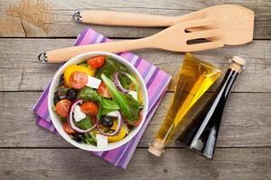insalata fresca e salutare foto