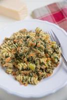 pasta vegetale foto