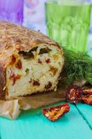 pane di zucchine con formaggio