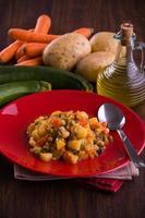 zuppa di verdure. foto