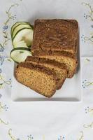 torta vegetariana a base di verdure foto