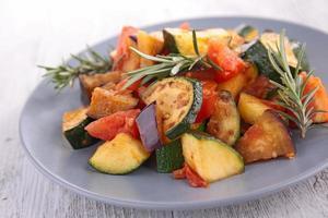 verdure grigliate foto
