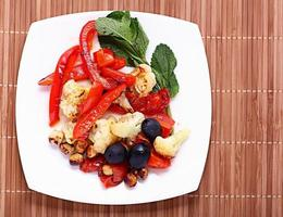 verdure grigliate vegetariane