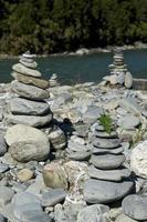tumuli di roccia foto