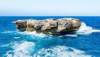 roccia di mare foto