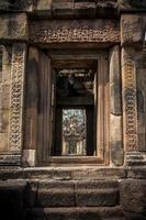 rocce del castello in Tailandia foto