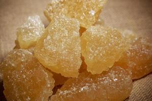 zucchero di roccia foto