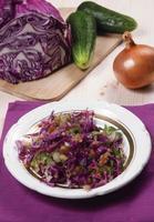 insalata di verdure foto