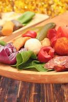 antipasto tradizionale rumeno foto