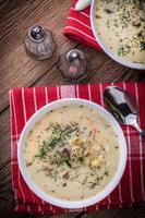 zuppa di cetriolo. foto