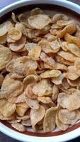 cereali in una ciotola foto