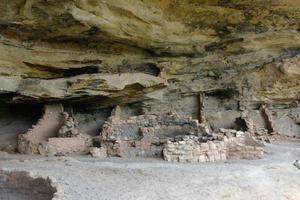 antiche rovine anasazi foto