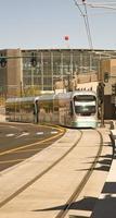 treno della metropolitana leggera di Phoenix foto