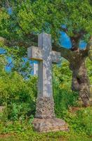 tomba cruciforme vittoriana foto
