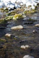 letto del fiume foto