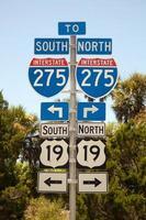 autostrada 275 nord o sud foto