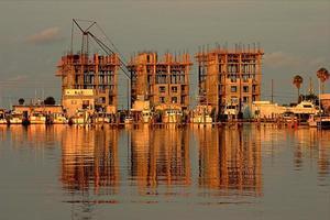 costruzione di spiagge foto