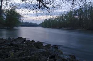 scena del fiume foto
