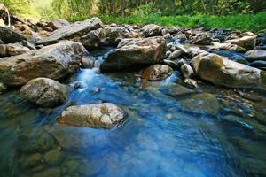 fiume di legno foto