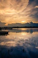 fiume in Tailandia foto