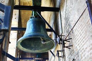 grande campana in cima alla torre della Giralda, Siviglia