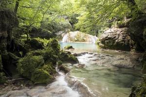 fiume urredera - navarra, spagna