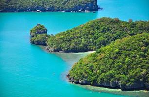 il parco marino nazionale della cinghia, Koh Samui, Tailandia