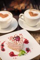 torta di San Valentino a forma di cuore