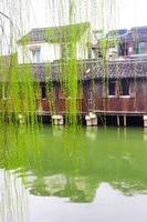 bellissima città cinese dell'acqua