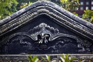 giardino cinese della statua del pipistrello dell'umile amministratore suzhou china foto