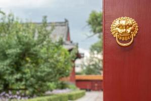 batacchio cinese antico foto