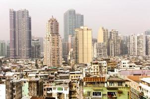 città dell'asia. macau