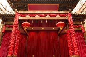 palcoscenico cinese foto
