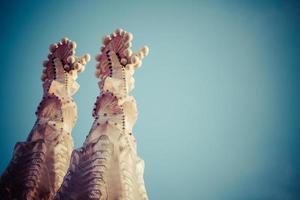 Sagrada Familia di Antoni Gaudi a Barcellona Spagna