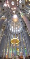chiesa della Sagrada Familia a Barcellona foto