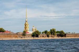 fortezza di san pietro e paolo, san pietroburgo, russia foto