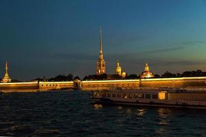 la fortezza di Pietro e Paolo, San Pietroburgo, Russia foto