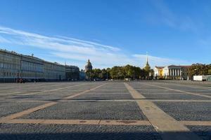 piazza del palazzo in v. Pietroburgo, Russia foto